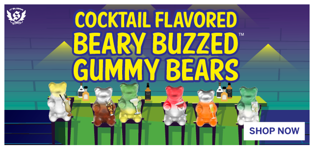 New Beary Buzzed Gummy Bears at IT'SUGAR