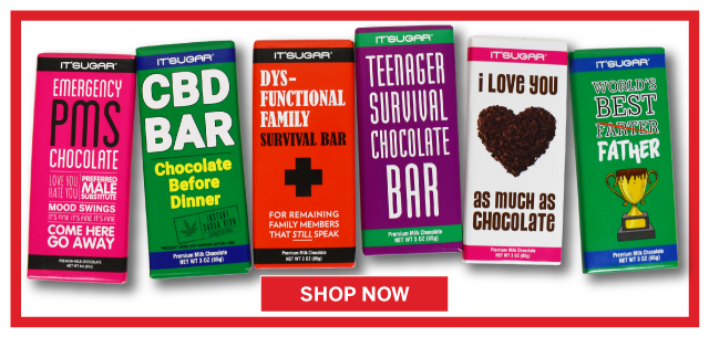 Say It With a Chocolate Bar from IT'SUGAR
