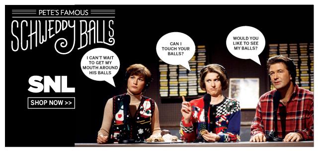 Exclusively at IT'SUGAR - SNL Schweddy Balls Candy